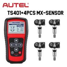 Autel MaxiTPMS TS401 TPMS автомобильный диагностический и сервисный Инструмент предварительный выбор процесс предлагает более быструю активацию и диагностику