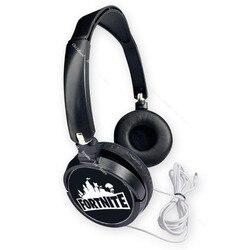 Fortnite – écouteurs filaires, Mini oreillettes de jeu, stéréo, musique à la mode, sur-oreille, pour ordinateur, tablette, Gamer, 2020