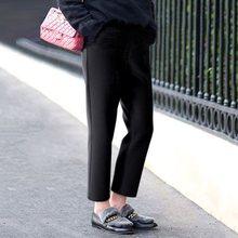 Bohoartist Autumn Womens Casual Pants Oversize Korean Loose High Waist Leisure Wool Blend pants