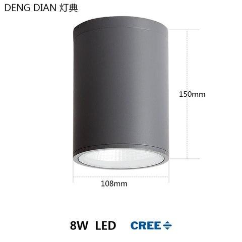 moderna lampada do teto ao ar livre