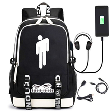 купить 2019 Luminous Backpack Teenagers Large school bags student usb laptop backpacks for boys children cool bookbag Knapsack mochila дешево