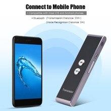 T8 Portable Voice Translator 41 Languages Two-Way Real Time Language Interpreter Bluetooth Wireless Travel Translation Machine