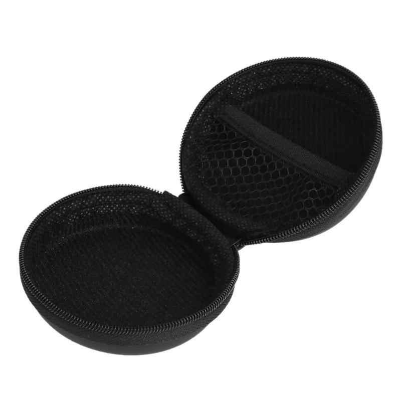EVA PU Harde Oortelefoon Opbergzakken Draagbare Beschermende Houder Case Cover Tas