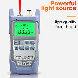 Image 5 - AUA 9A All IN ONE optik güç ölçer görsel hata bulucu fiber optik test cihazı 5KM 10km 20KM 30km VFL 1/10/20/30MW