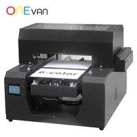 Máquina Impressora UV caso de telefone Tamanho A3 ONEVAN .. A3 Flatbed máquina de Impressão da impressora a Tinta Branca para o Metal/acrílico com tinta