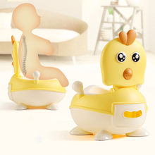 Portable Baby Pot Cute Chicken Toilet Seat Pot Kid Potty Training Seat Children Potty Baby Toilet Bowl Pot Training Potty Toilet(China)