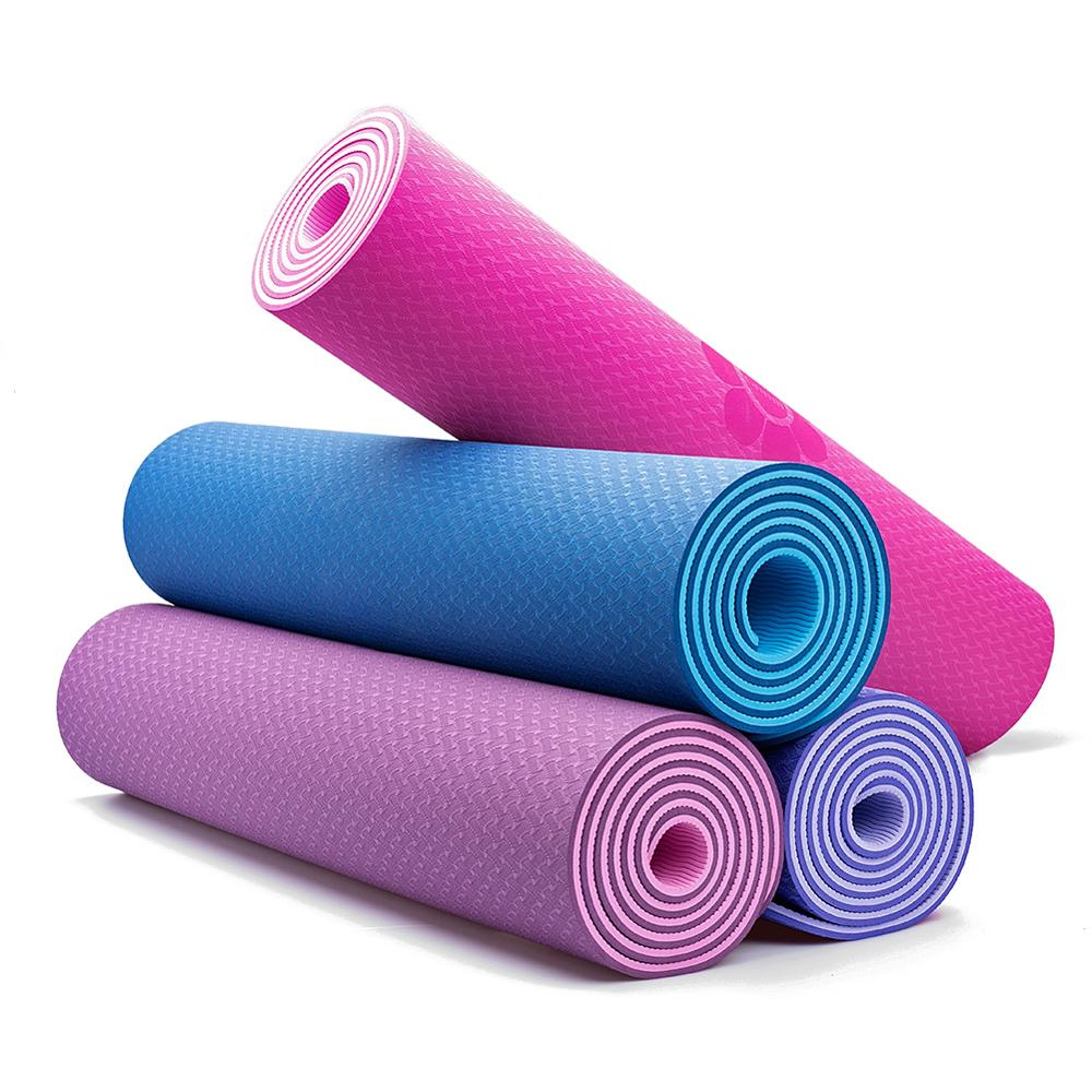 6-8mm-Super-Thick-Non-slip-Foam-Yoga-Mat-183x61cm-Fitness-Pilates-Yoga-Mat-Free-Net
