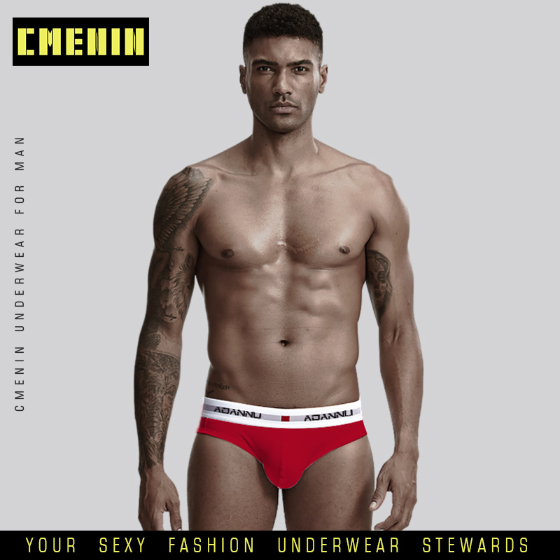 Ropa Interior Masculin Sexy Underwear Men Jockstrap Briefs Men Bikini Gay Men Underwear Male Men Lingerie Cotton AD44