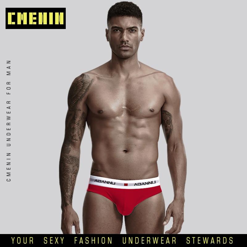 Ropa Interior Masculin Sexy Underwear Men Jockstrap Briefs Men Bikini Gay Men Underwear Male Men Lingerie Cotton AD44