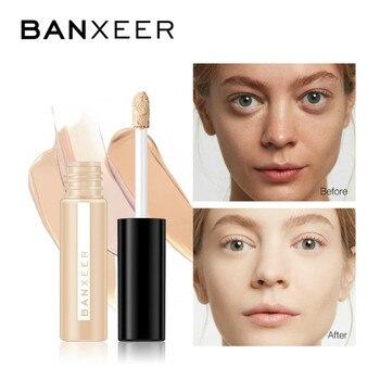 BANXEER Concealer Makeup Full Cover Concealer Eye Dark Circles Cream Face Corrector Foundation Base Cosmetic