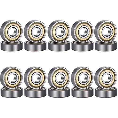 608ZZ-RS-MR148ZZ-MR128ZZ Inner diameter 8mmdeep groove ball bearing, carbon steel bearing, double sh