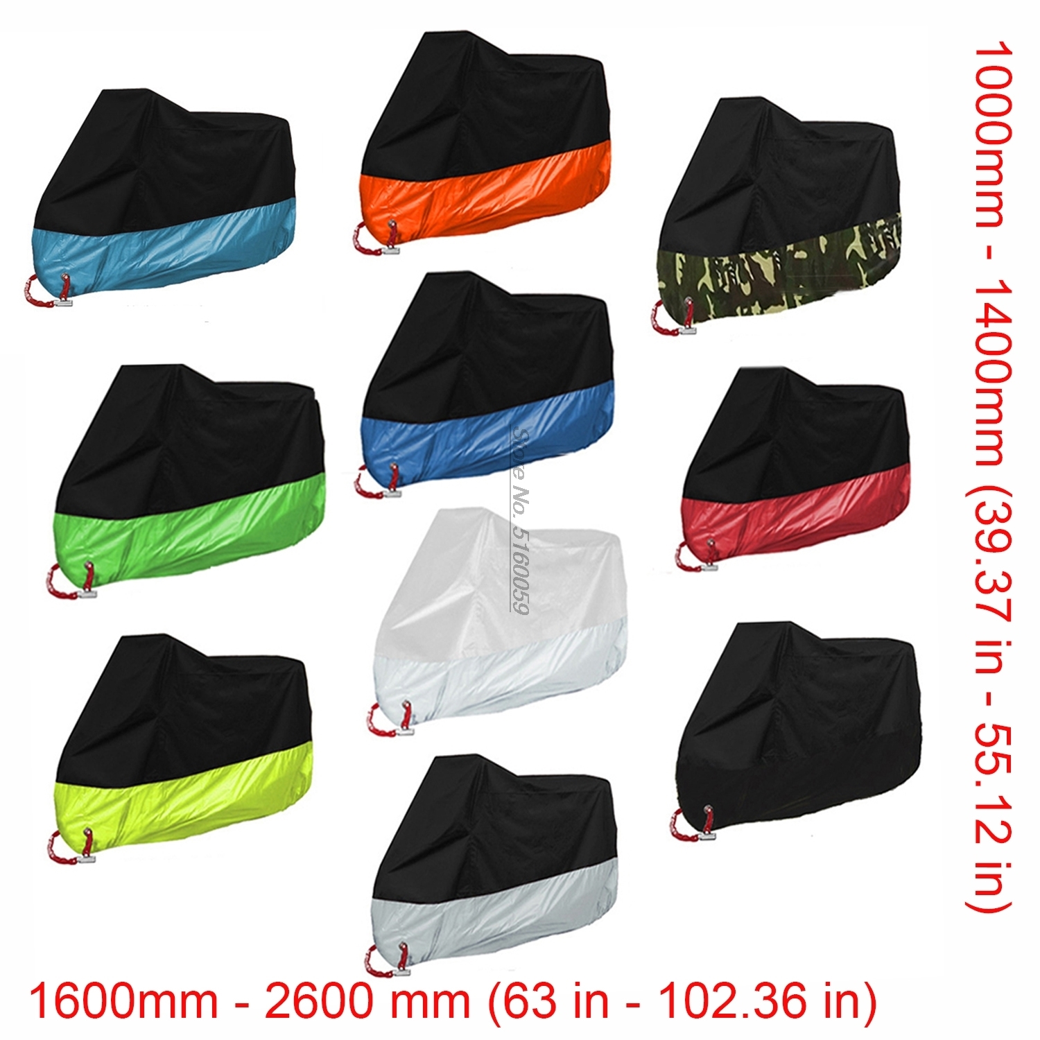 UV-Anti Motorcycle Covers for 700 <font><b>Yamaha</b></font> <font><b>Xj600</b></font> Honda Goldwing 1800 Tiger 800 Suzuki Hayabusa <font><b>Parts</b></font> Honda Cb1300 Kawasaki image