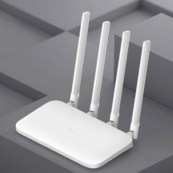 Smart Router 4 Antennas Router 1200Mbps Single Band Router WiFi Routers Wireless Router For Xiaomi 4C