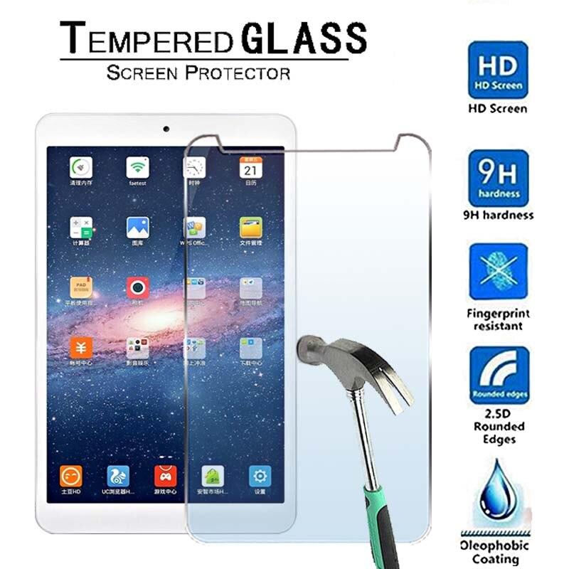 Para onda v819i/v819 4g 8 Polegada-premium tablet 9h protetor de tela de vidro temperado filme protetor protetor capa