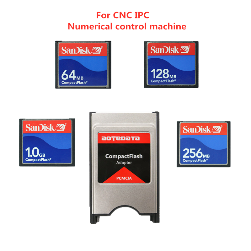 Sandisk Compact Flash 32mb 64mb 128mb 256mb 512mb Memory Card For CNC IPC Numerical Control Machine