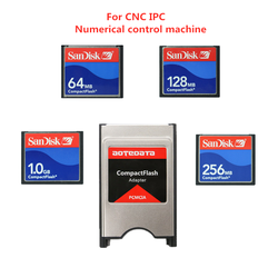 Sandisk Compact Flash 32mb 64mb 128mb 256mb 512mb karta pamięci do sterowania numerycznego CNC IPC