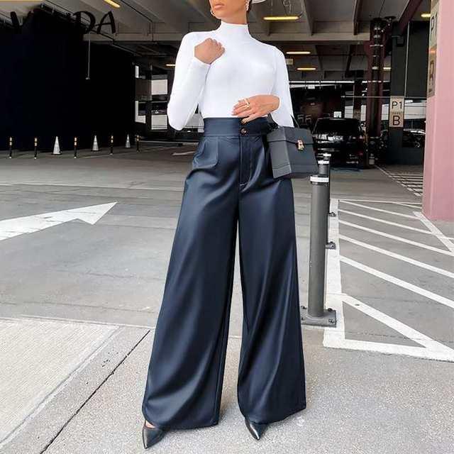 Leather Long Pants  4