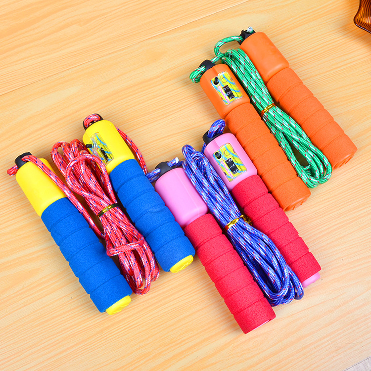 Foam Rubber Grip Count Jump Rope Maker Adult With Numbers Jump Rope Extra High Students Game Sports Fitness Jump Rope