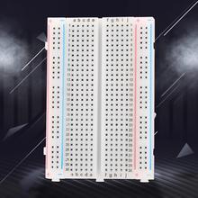 цена на 3pcs Breadboard 400 Points Holes Solderless Prototype Breadboard ABS Circuit Board Tripod Test Develop DIY for arduino