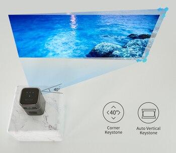 Портативный проектор WZATCO A8 DLP 4