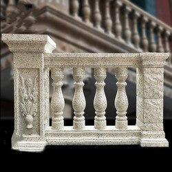83 см/32,68in Классическая колонна формы бутылки открытый литой на месте бетонный балкон формы для балясин/Садоводство DIY цементные балюстрады