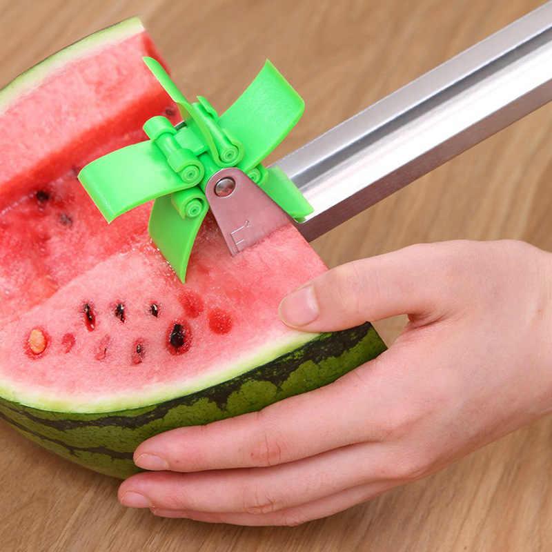 1PC arbuz krajalnica cięcia owoców Melon narzędzie ze stali nierdzewnej nowy owoców cięcia odświeżyć arbuz kostki akcesoria kuchenne