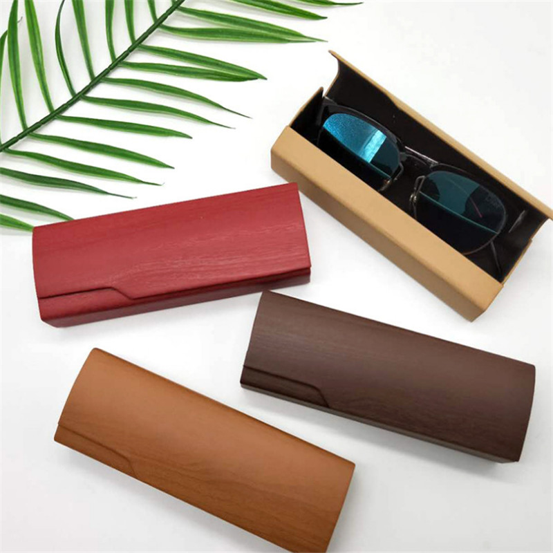PU Unisex New Fashion Glasses Case Protective Case Women Men Portable Sunglasses Case Optical Reading Eyeglasses Box Accessories
