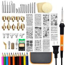 82 PCS Wood Burning Kit, Father's Day Wood Tool with Adjustable On-Off Switch Control Temperature 200~450 ℃ Professional
