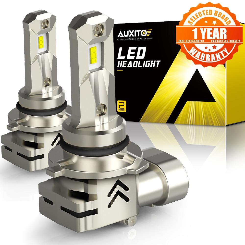 AUXITO 2 шт. 9006 HB4 светодиодный налобный фонарь H8 H11 H7 автомобиля CSP светодиодный фары лампы авто лампы H4 HB3 9005 для BMW Renault, Hyundai 6000K