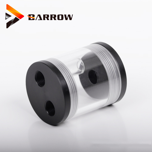 Original Barrow 60MM Length 50MM Diameter Cylindrical Watercooler Tank Pc Cooler Acrylic Water Reservoir Cooling Computer