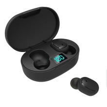 Levana Draadloze Tws Bluetooth 5.0 Oortelefoon Mini Oordopjes Met Microfoon Opladen Doos Sport Headset Voor Alle Smartphone Oortelefoon E6S