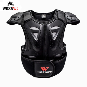 Kids Dirt Bike Vest Armor Back