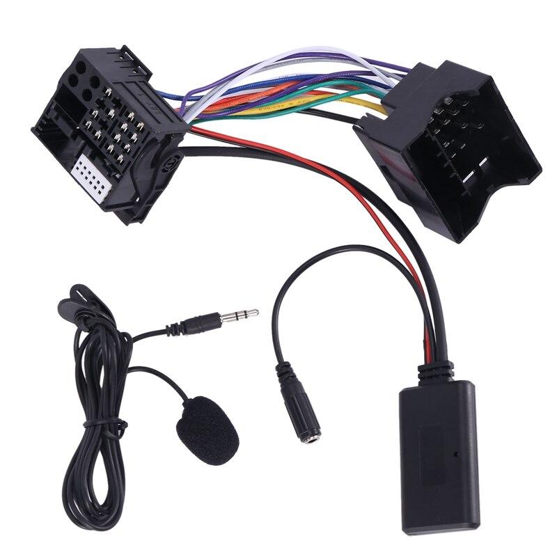 Автомобильный AUX o адаптер кабель Bluetooth + микрофон для Peugeot 307 308 407 RD4 радио CD