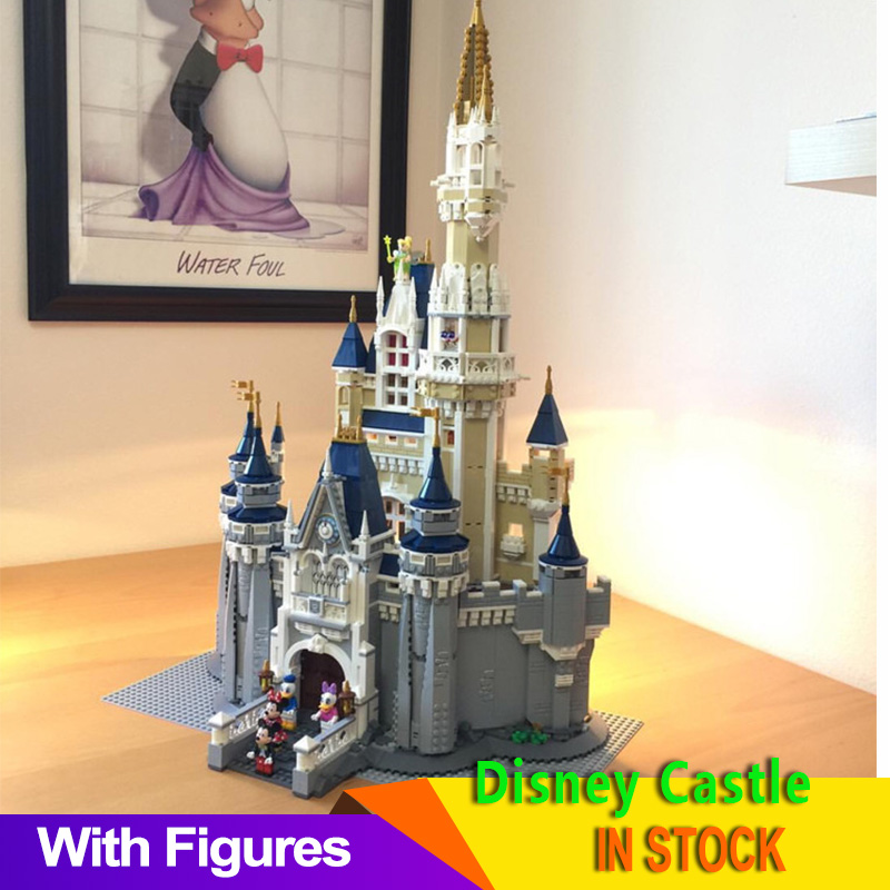 71040 Cinderella Princess Castle Set Building Blocks Bricks with figure Birthday Christmas Gifts for Girls 1