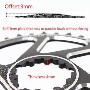 Image 3 - MTB אופניים chainring GXP קבוע הילוך אופסט 3mm צר רחב הרי שרשרת טבעת 32T 34T 36 38T Fit XX1 X9 XO X01 BB30 אופני כננת