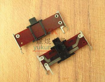 Total Length 35MM Handle Height 4MM 20K B20K Vertical Mono Straight Slide Potentiometer Fader Slide Potentiometer