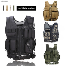 Army Police Tactical Vest Outdoor Camouflage Military Combat Training Hunting Vest Airsoft Paintball Molle Vest tactical vest hunting equipment airsoft vest army military gear outdoor paintball police molle vest for cs wargame 6 colors