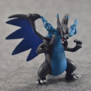 Image 2 - 8cm X Y Evolution Groep Mewtwo Charizard Venus Anime Actie Toy Figures Collection Model Speelgoed Auto Decoratie Speelgoed Pks