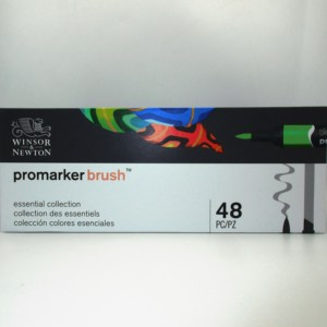 Image 5 - Winsor & Newton Brushmarker 48 Colors Essential Collection  Markers Set