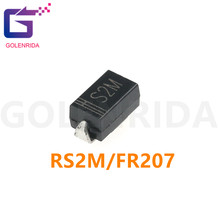 100PCS RS2M DO-214 FR207 DO-214AC SMA Rectifier diode