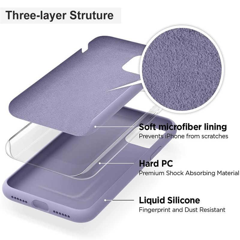 Caixa do telefone para samsung galaxy s20 ultra caso s20 plus + 5g capa de luxo completa de silicone líquido oficial veludo original