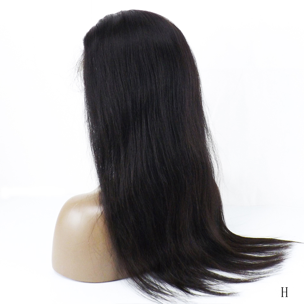 Kim K Lace Front Human Hair Wigs Straight Pre Plucked Hairline Baby Hair 13x4 150% Peruvian Remy Human Hair Lace Front Wigs