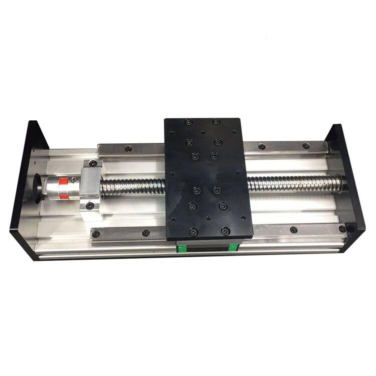 2GBX 2005/2010 vis à billes de précision Guide linéaire lourd Module de glissière Installation croisée pas à pas électrique