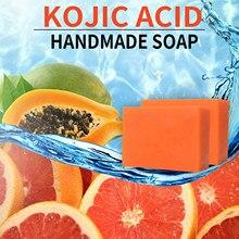 Sabonete ácido kojic rosto & lavagem do corpo, iluminando, clareando o limpador da pele