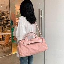 Fashion Travel Bags Women 2021 Travel Bags Shoulder Bags For Women Travel Duffle Bags Waterproof Nylon Travelling Handbags
