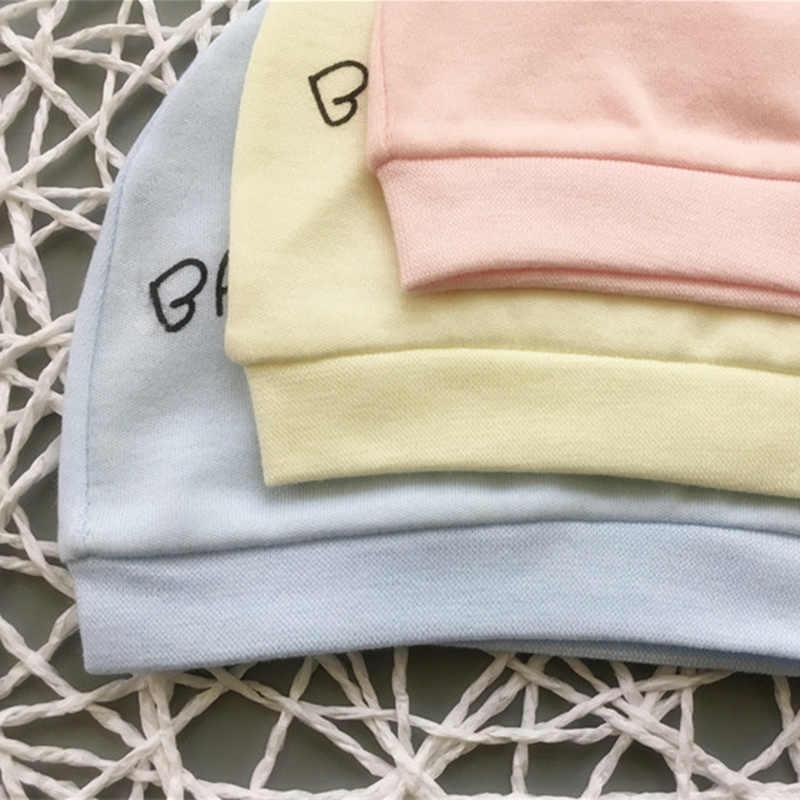 Gorro de algodón para bebé recién nacido Unisex 3 patrones de conejito disponible gorro de bebé lindo suave para niños pequeños niños niñas sombrero recién nacido