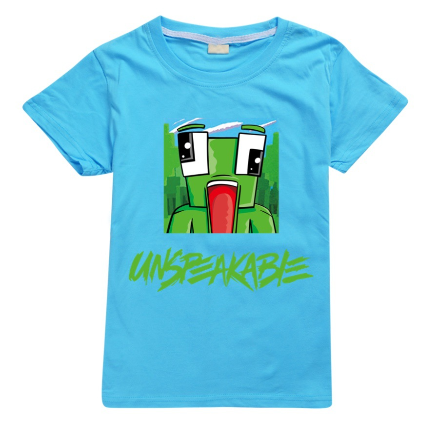 Unspeakable t shirt Morgz Youtuber baby boys youtube lovers vlog letter girls Cotton Clothing boys Clothes Kids christmas shirt 3