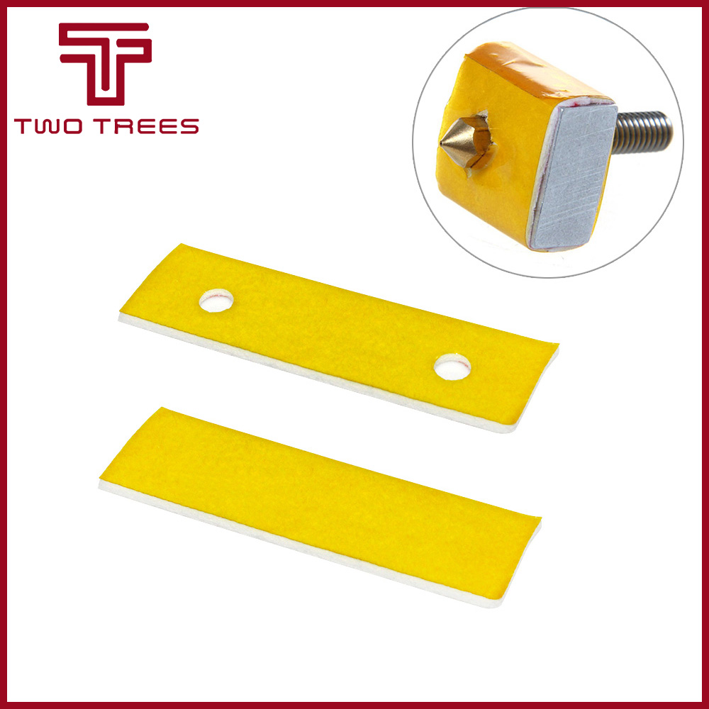 2mm thick 3d printer heating block cotton hot end nozzle heat insulation