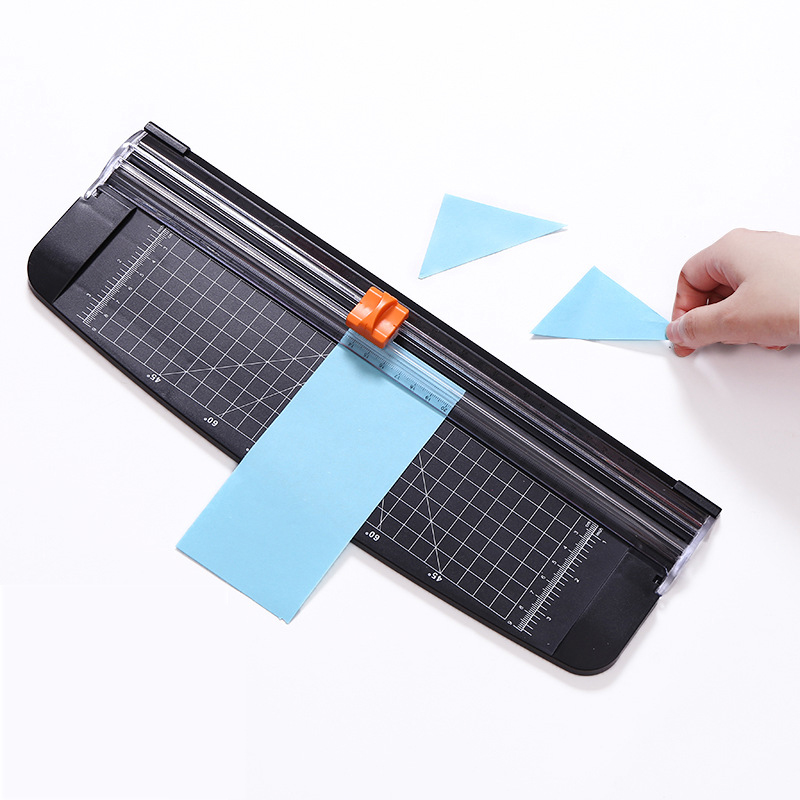 A4/A5 Paper Cutter Trimmer Plastic Base Office Home Stationery Knife Photo Paper Card Cutting Blade Art Trimmer Crafts Tools