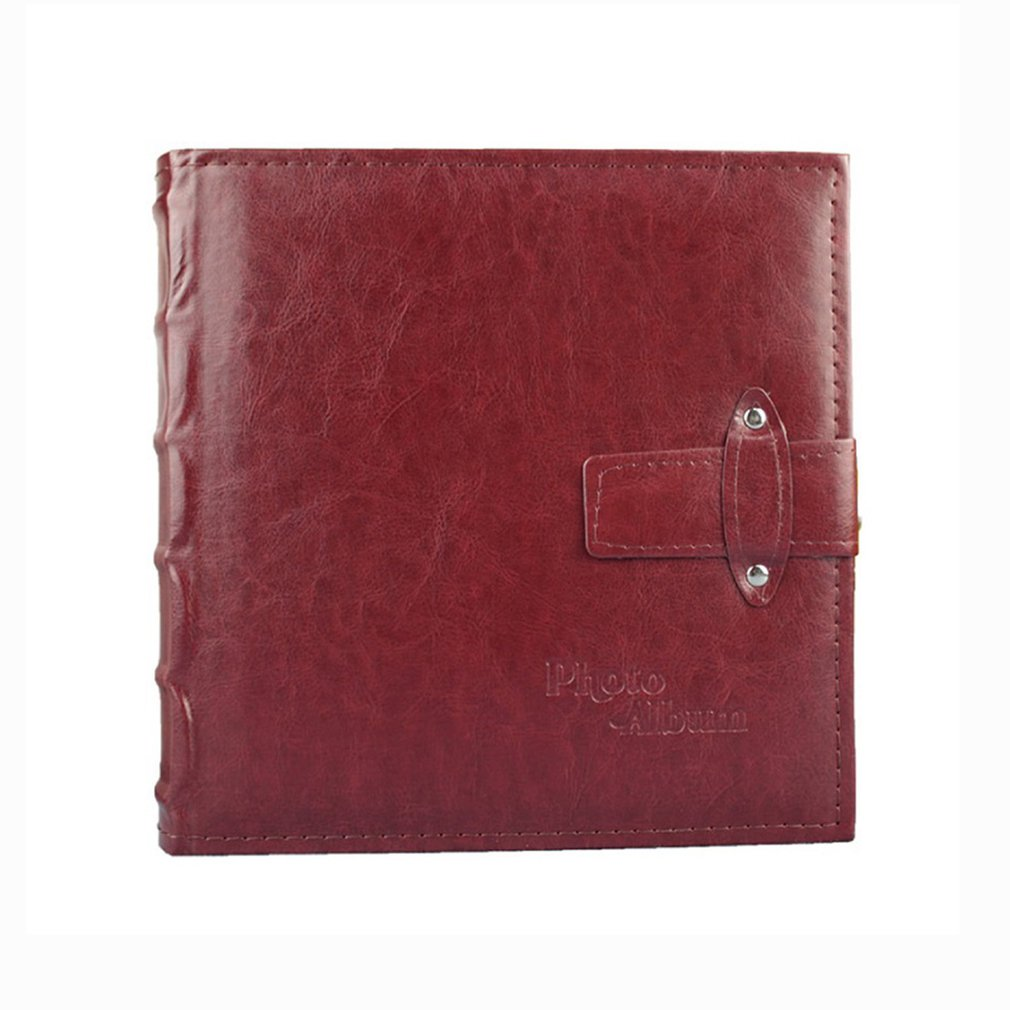 6 Inch Leather Vintage Photo Album 200 Inlay Photo Album Family /Wedding / Graduation /birthday Gift Photo Album